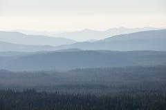 Гребни горы Стоковые Изображения RF
