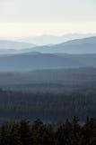 Гребни горы Стоковое Изображение