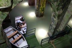 Гребля в ОН нелегально сдобренном бассейне Стоковое Изображение RF