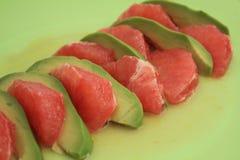грейпфрут авокадоа Стоковое фото RF