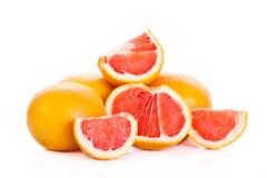Грейпфрут изолированный на белой предпосылке приносить еда Стоковое фото RF