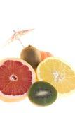 Грейпфрут и киви Стоковые Фотографии RF