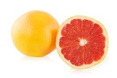 Грейпфрут и кусок грейпфрута Стоковые Изображения