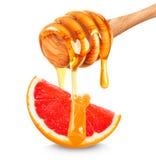 Грейпфрут и мед Стоковые Изображения RF