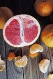 Грейпфрут и tangerine Стоковое фото RF