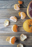 Грейпфрут и tangerine Стоковые Изображения