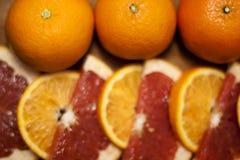 Грейпфрут и tangerine Стоковые Фотографии RF