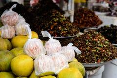 Грейпфрут, помело на Kampong Thom, Камбодже Стоковое Фото