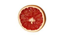 Грейпфрут снял на белой предпосылке Стоковое Фото