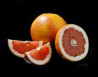 Грейпфрут с кусками Стоковая Фотография