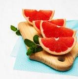 Грейпфрут с мятой Стоковая Фотография RF