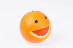 Грейпфрут с улыбкой. Стоковые Изображения