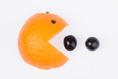 Грейпфрут с улыбкой. Стоковое фото RF