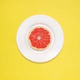 Грейпфрут для завтрака Стоковая Фотография