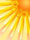 грейте на солнце вектор Стоковое Изображение