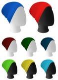 Грейте связанный шаблон шляпы бесплатная иллюстрация