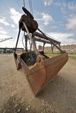 грейферный кран frankfurt Германия Стоковая Фотография