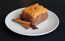 грек еды десерта бахлавы Стоковая Фотография