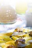 грек еды стоковая фотография