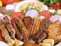 грек еды Стоковые Изображения
