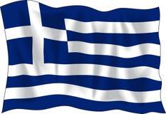 грек флага бесплатная иллюстрация
