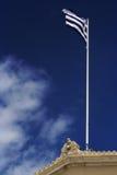 грек флага Стоковое Изображение