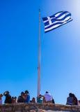 грек флага стоковое изображение rf