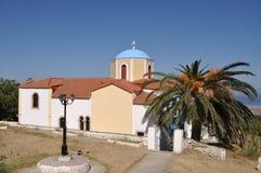 грек церков Стоковая Фотография