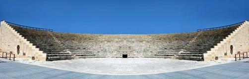 грек amphitheatre стоковое фото rf