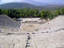 грек amphitheatre стоковая фотография rf