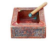 грек ashtray Стоковая Фотография