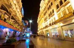 гремя город shanghai Стоковые Фотографии RF