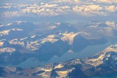 Гренландия от воздуха Стоковое Изображение RF