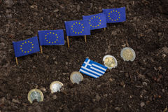 Греция и EC Стоковые Фото