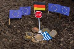 Греция и EC Стоковая Фотография