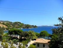 Греция, каникулы на острове Skiathos Стоковое фото RF