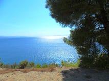 Греция, каникулы на острове Skiathos Стоковые Фото