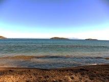 Греция, каникулы на острове Skiathos Стоковые Фотографии RF
