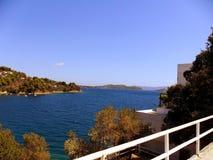 Греция, каникулы на острове Skiathos Стоковое Изображение RF