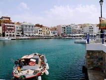 Греция, Крит, ажио Nikolaos Стоковая Фотография