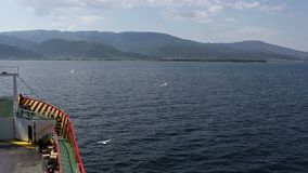 Греция май 2014: Остров Thasos сток-видео