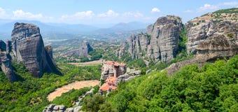 Греция, метеоры Стоковая Фотография RF
