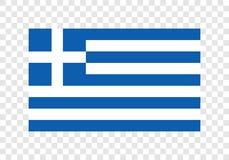 Греция - национальный флаг бесплатная иллюстрация