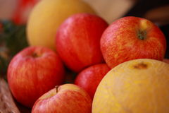 Греция - яблоки стоковое изображение