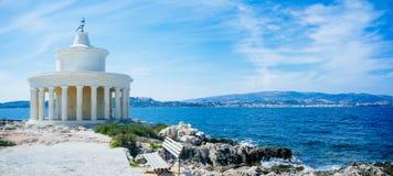 Греция-Kefalonia Argostoli - фонарик St Теодора стоковая фотография rf