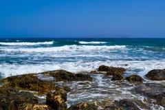 Греция, mediterrean море Стоковые Фотографии RF