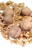 грецкие орехи вороха Стоковое Изображение RF