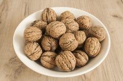 Грецкие орехи в крупном плане раковины Стоковая Фотография RF
