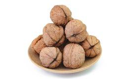 Грецкие орехи в шаре Стоковое фото RF