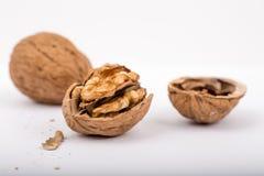Грецкие орехи - гайка superfood Стоковое фото RF